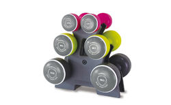 Smart dumbbell set