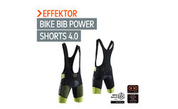 Awarded innovation: X-BIONIC<sup>®</sup> EFFEKTOR<sup>®</sup> G2 BIKE BIB SHORTS