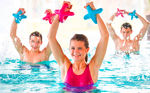 Small, handy, effective – our small aquatic fitness equipment